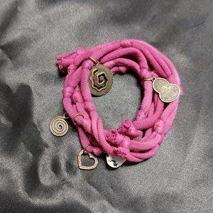 Pink Yoga Chakra Wrist Wrap